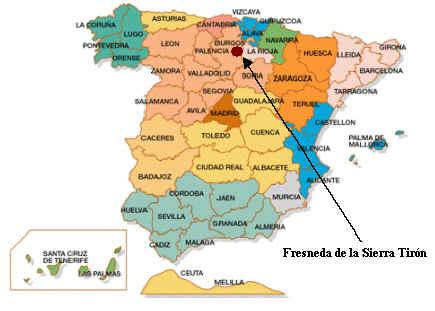 Mapa De España Burgos.Mapa De Burgos Espana Mapa Runtothemoonandback